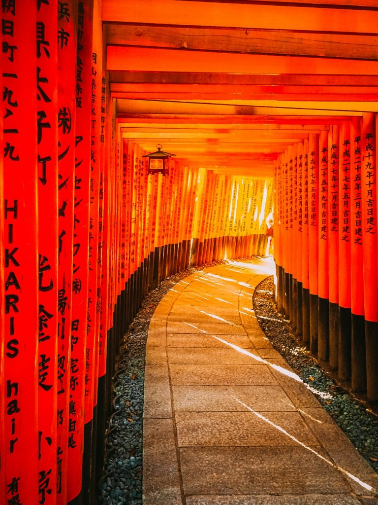 Most Instagram Places Kyoto